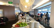 Qantas International Business Lounge Sydney