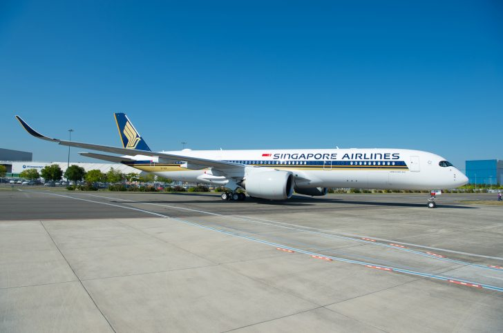 Singapore Airlines A350-900 Featured Exterior Image