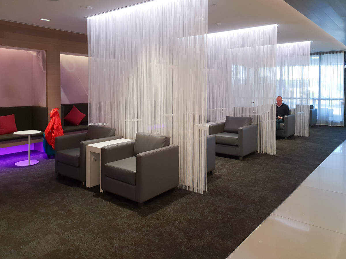 Air New Zealand lounge Melbourne