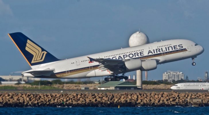 Singapore Airlines A380 take off | Point Hacks
