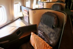 China Airlines A350 Business Class Seat