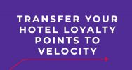 How to transfer your points into Velocity